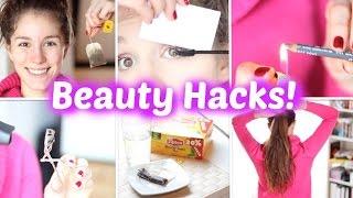 15 BEAUTY HACKS, die wirklich helfen! ♡ BarbieLovesLipsticks