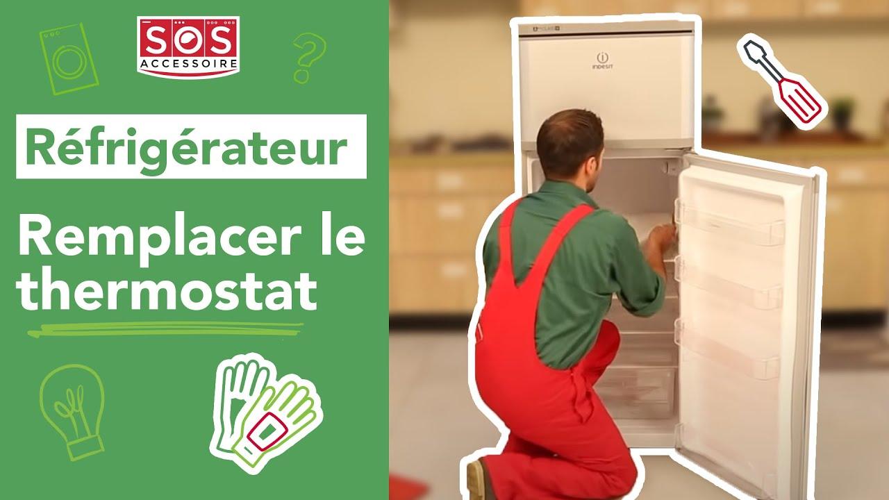 Comment remplacer le thermostat d 39 un r frig rateur youtube - Fonctionnement d un refrigerateur ...