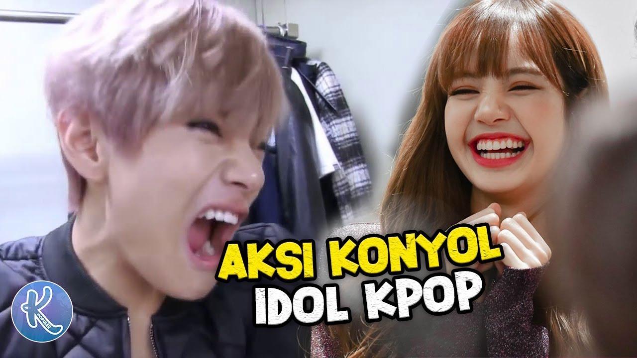 Tahan Tawa Inilah Video Lucu 12 Idol Kpop Yang Tertangkap Kamera Bikin Ngakak