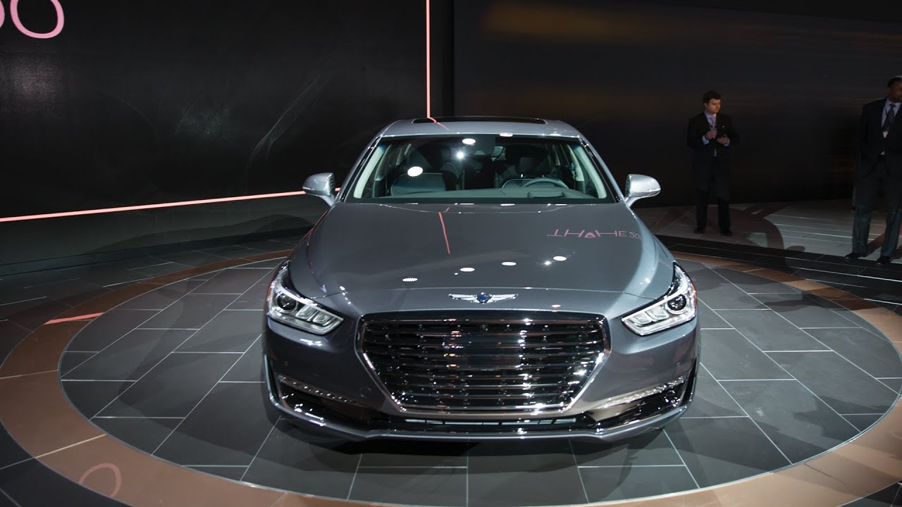 Genesis G90  The first car from Hyundai s new luxury brand   YouTube