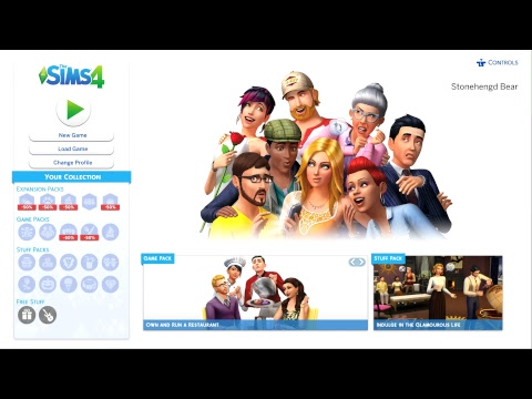 The Sims 4: Co-Op - A New Household - The Gamer Society - Live Stream - XI thumbnail