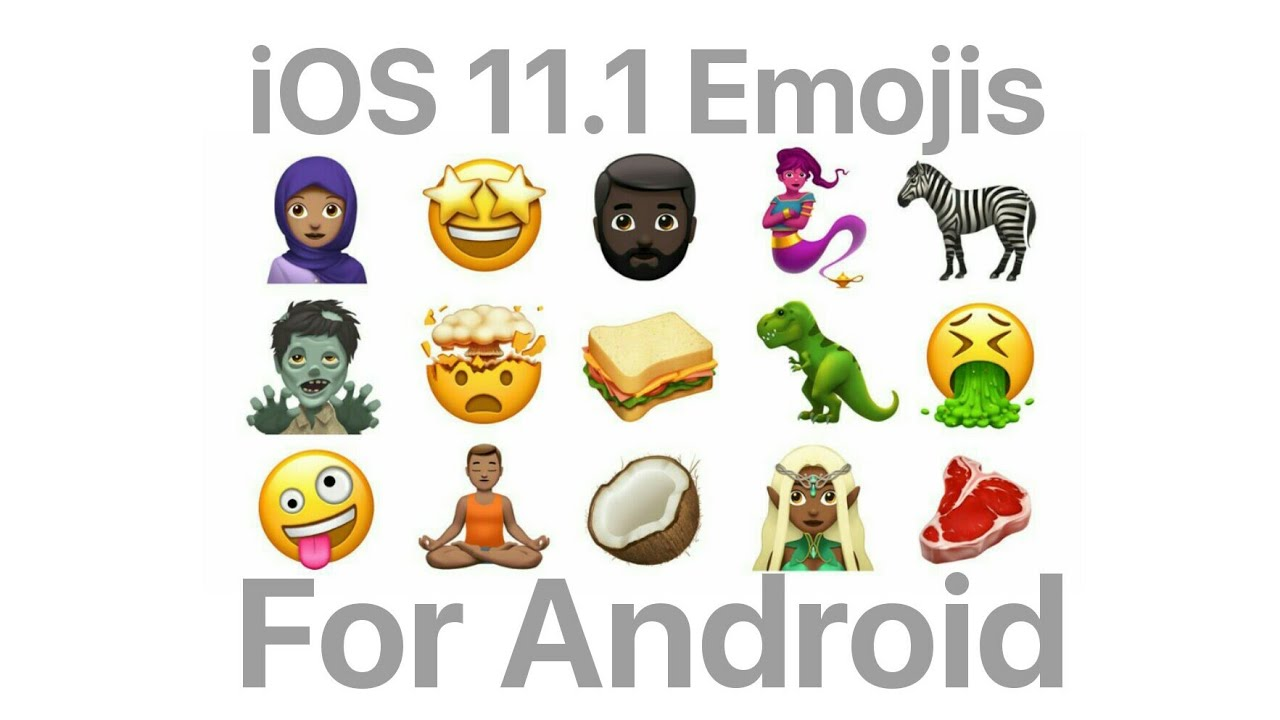 Get Latest iOS 11 1 Emojis On Your Android