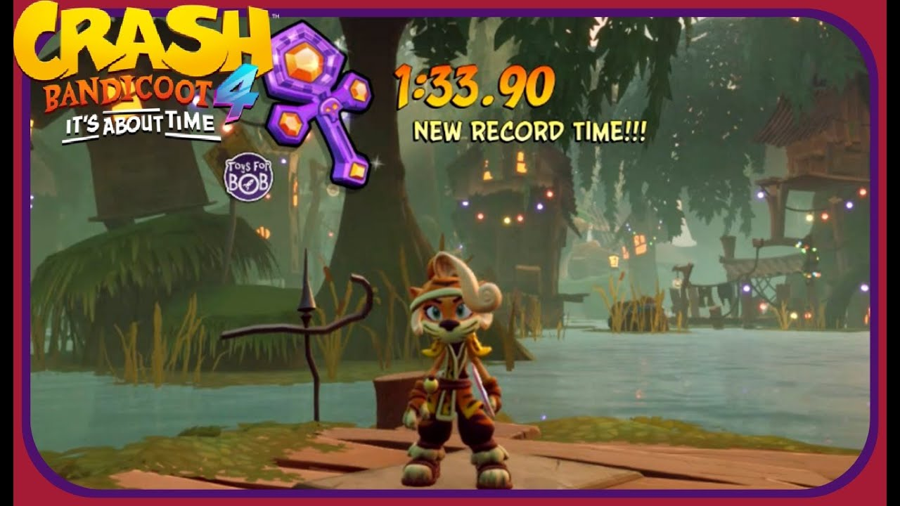 Crash Bandicoot 4: it's About Time: All Platinum Relics - Mosquito Marsh/11th Dimension