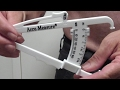 HOW TO ACCURATELY MEASURE BODY FAT PERCENTAGE Accu-Measure Body Fat Calipers Review Does it WORK?
