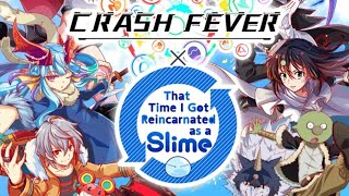 [Collab/Gacha] Pulling for Milim Step6&7 | Crash Fever X That Time I Got Reincarnated as a Slime