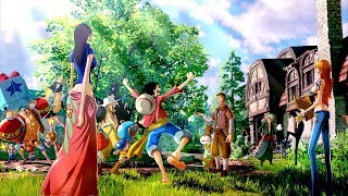 One Piece: World Seeker - Straw Hat Pirates & New Locations Screenshots! (4k)『ワンピース:ワールドシーカー』