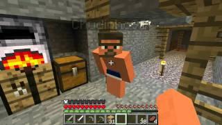 Minecraft - Oczami Jaskiniowca [multiplayer] #4 - JASKINIA!!!