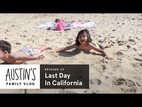 Last Day in California | Austin Vlog | HiHo Kids