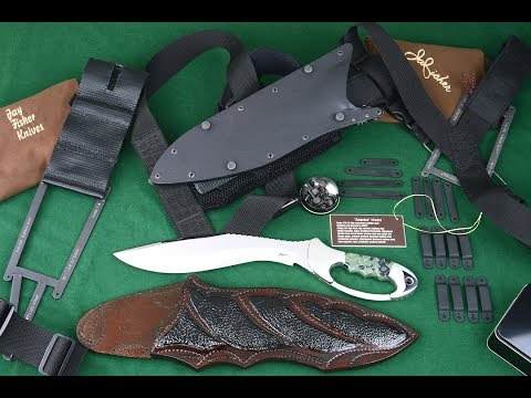 Modular Knife Sheath Frame System