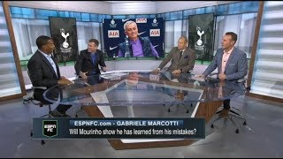 [FULL] Craig Burley reacts to Jose Mourinho's plan; Z.Ibrahimovic linked with Tottenham | ESPN FC
