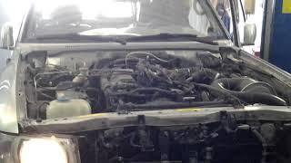 Ниссан Патрол Nissan Patrol TB48DE первый запуск после кап ремонта двигателя ! Часть 7