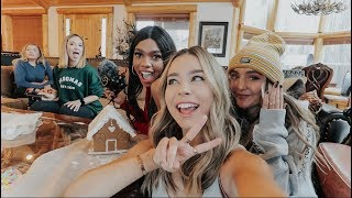 Gingerbread house competition + Becoming A Tik Toker! Vlogmas Day 4!