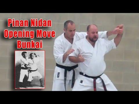 Practical Kata Bunkai: Pinan Nidan Opening Move