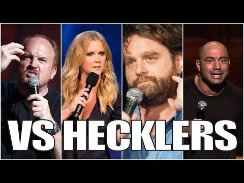 Famous Comedians VS. Hecklers (Part 1/5)