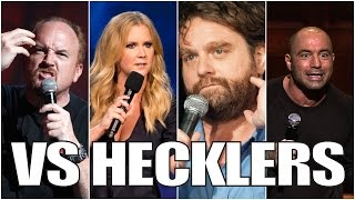 Famous Comedians VS. Hecklers (Part 1/2)