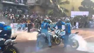 Pulsar Ghost Riders Kochi Eshta Bajaj Feb 2014