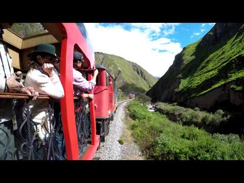 The Devil's Nose Ride in Ecuador