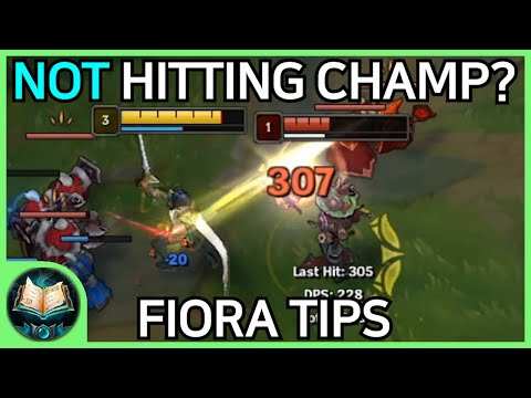 Fiora Tips / Tricks / Guides - How to Carry with Fiora