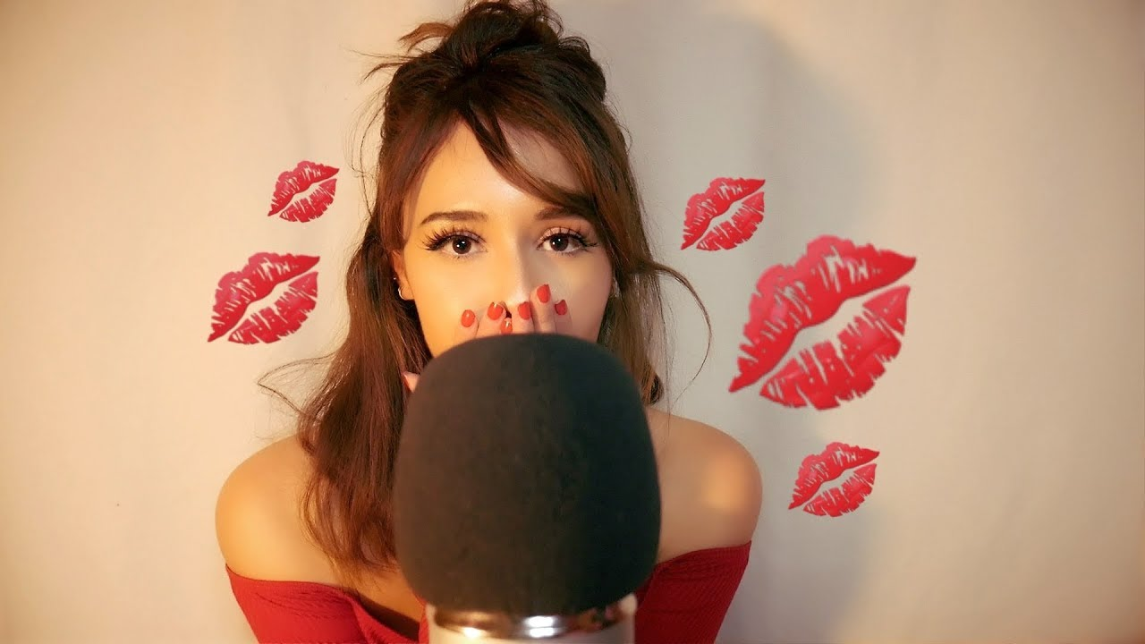 Asmr Kisses For 2018 Mic Scratching Whispers Hand Movements Fabric Sounds