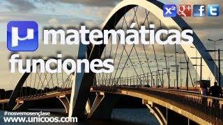 Representacion funcion cuadratica SECUNDARIA (3ºESO) matematicas vertice parabola
