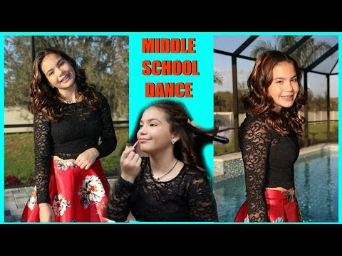 GET READY WITH ME FOR MY FIRST MIDDLE SCHOOL DANCE | SISTERFOREVERVLOGS #459
