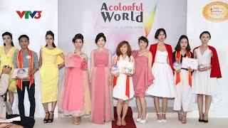 Phóng sự về khóa học Thiết kế thời trang và Ngành may Trường Quốc Thảo trên VTV3
