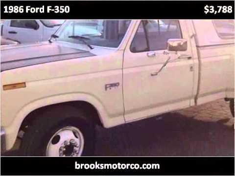 1986 ford f 350 used cars st louis mo youtube. Black Bedroom Furniture Sets. Home Design Ideas