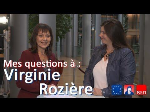 Mes questions à Virginie Rozière