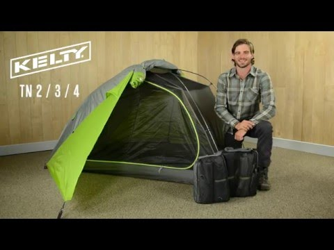 Kelty TN 2 / 3 / 4 & TN3 TraiLogic 3-Person Backpacking Tent | Kelty