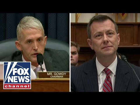 Gowdy to Strzok: 'I don't give a damn what you appreciate'