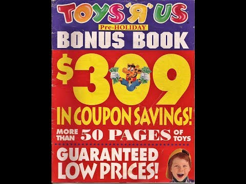 Nostalgia Mall Christmas 2018: October 1994 Toys R Us Catalog