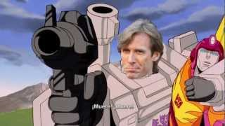 Optimus Prime vs. Michael Bay