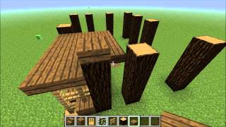 [p1/3]minecraft - How To Build A Good Looking House: Modern Cabin