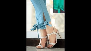 Tie knot trouser cutting and Sewing - Latest trousers design cutting (4)