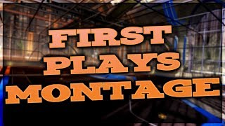 ROCKET LEAGUE || FIRST PLAYS MONTAGE