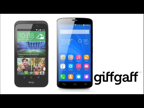 HTC Desire 320 vs Huawei Honor Holly | giffgaff