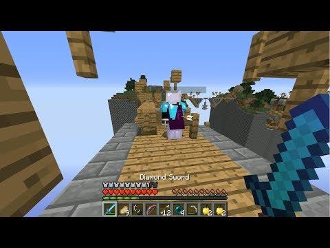 Minecraft 3v3 AERIAL PVP #1 with Vikkstar, PeteZahHutt, BajanCanadian, PrestonPlays & More!