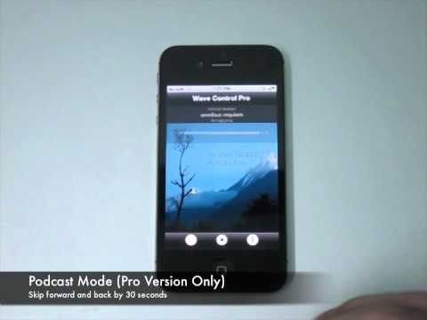 Wave Control for iPhone Demo