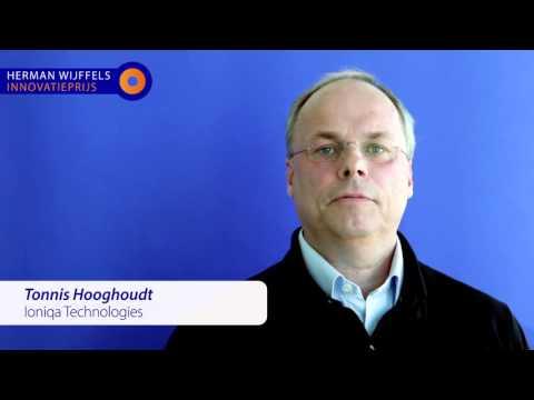 Tonnis Hooghoudt - finalist 2015 - Ioniqa Technologies B.V.