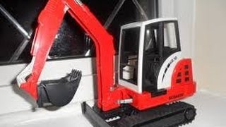 SCHAEFF BUCKET EXCAVATOR toy BY HTI
