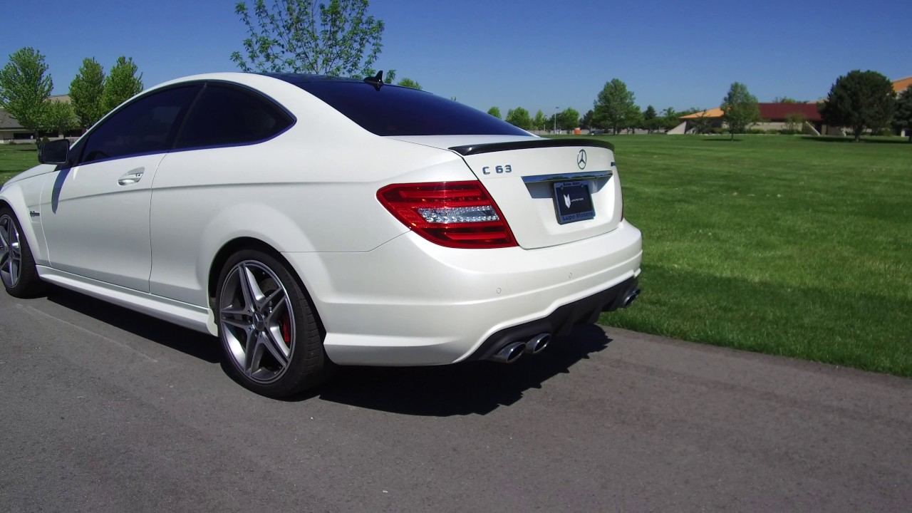 2013 mercedes-benz c63 amg coupe - youtube