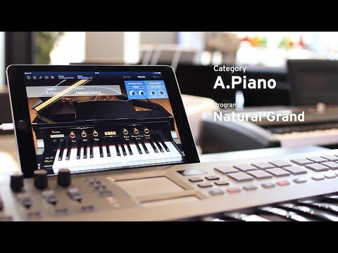 KORG Module for iPad | MOBILE SOUND MODULE - YouTube