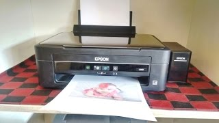 Unboxing & Print Testing of Epson L360 Ink Tank Color Printer