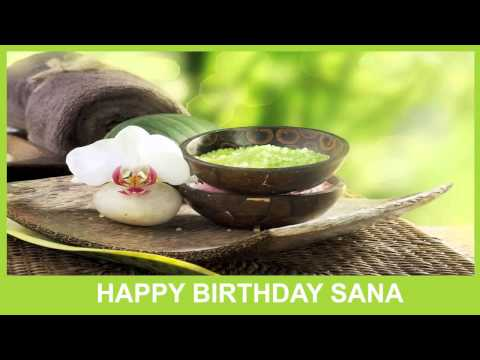 Sana   Birthday Spa - Happy Birthday