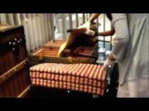 Louis Vuitton Bed Trunk