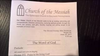 Church of the Messiah full service   6 18 2017