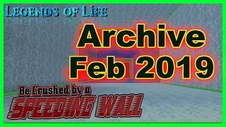 Old Codes ➤ Archive February 2019 ➤ Be Crushed by a Speeding Wall ➤ Roblox