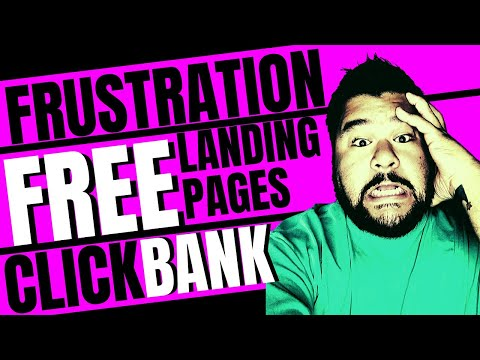 How To Create A Landing Page For Clickbank Affiliate Marketing 2020
