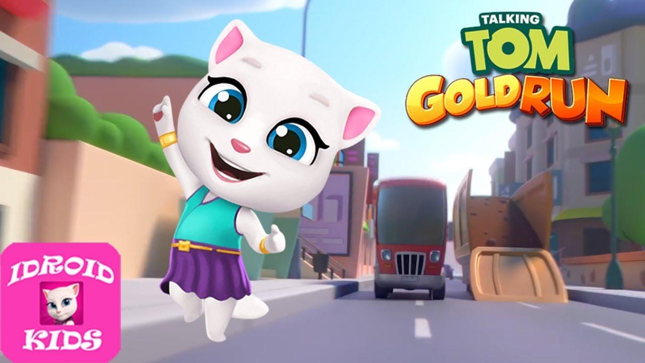 Talking Tom Gold Run Gameplay #111