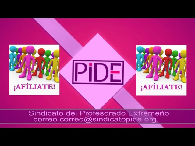 PIDE - Spot PIDE Zafra